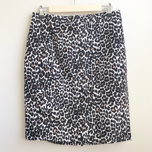 J. Crew Factory Dresses & Skirts - J. Crew Factory | Leopard Pencil Skirt